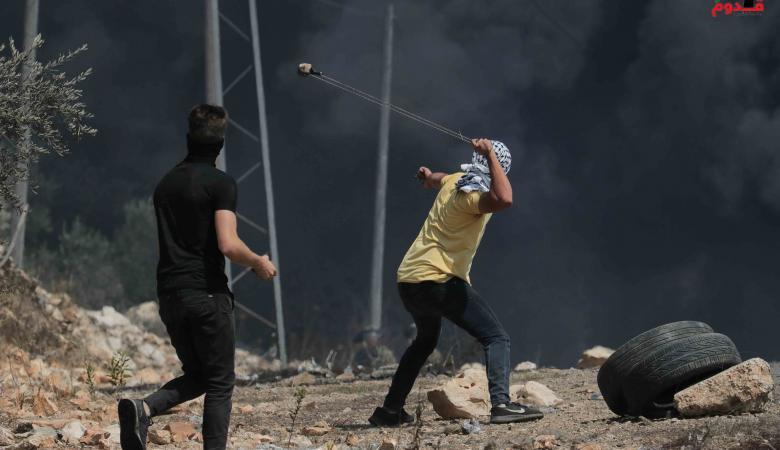 اصابة 7 مواطنين في مواجهات مع الاحتلال بكفرقدوم