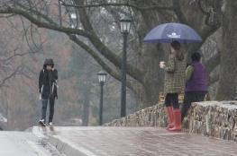 حالة الطقس : الامطار مستمرة حتى يوم الاحد المقبل