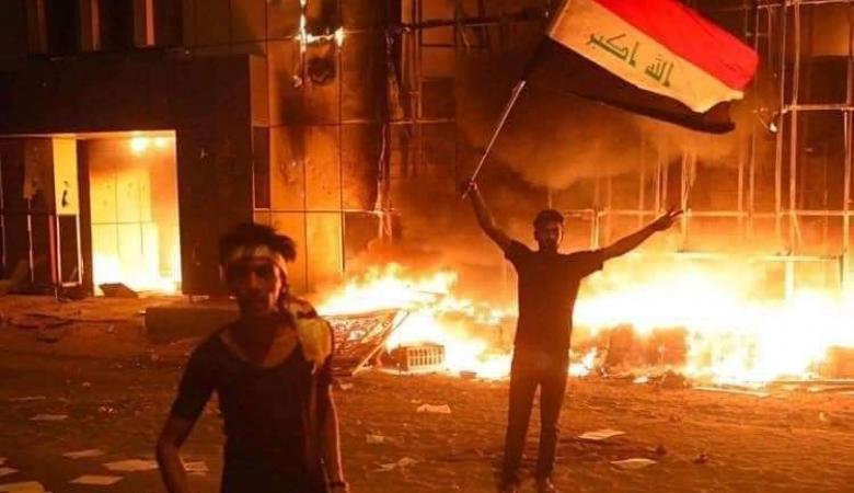 """خامنئي عن تظاهرات العراق : """"لن يكون لمؤامرة  الاعداء أثر """""""