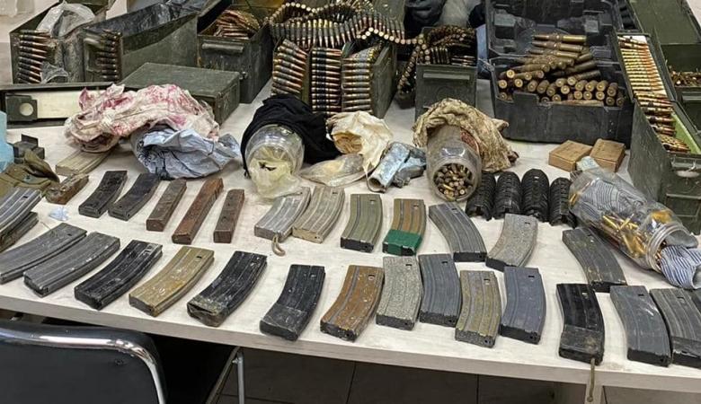 ضبط مئات قطع السلاح في البلدات الفلسطينية بالداخل المحتل