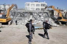 الاحتلال يشرد عائلات فلسطينية بعد هدم منزلين جنوب القدس