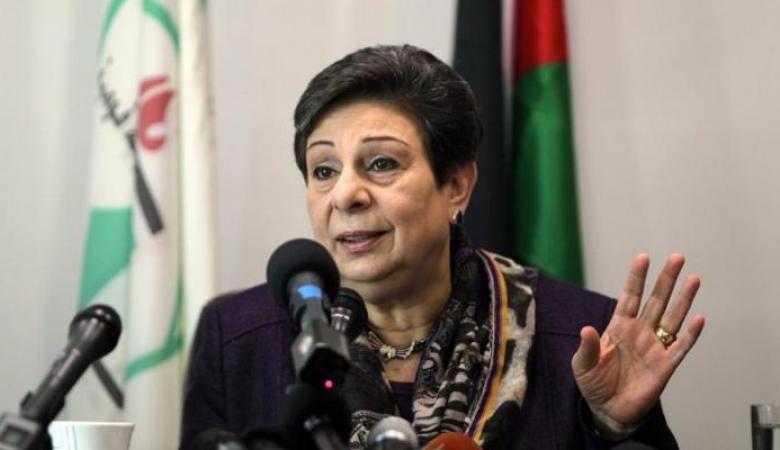 عشراوي تطالب إيطاليا بالاعتراف بدولة فلسطين