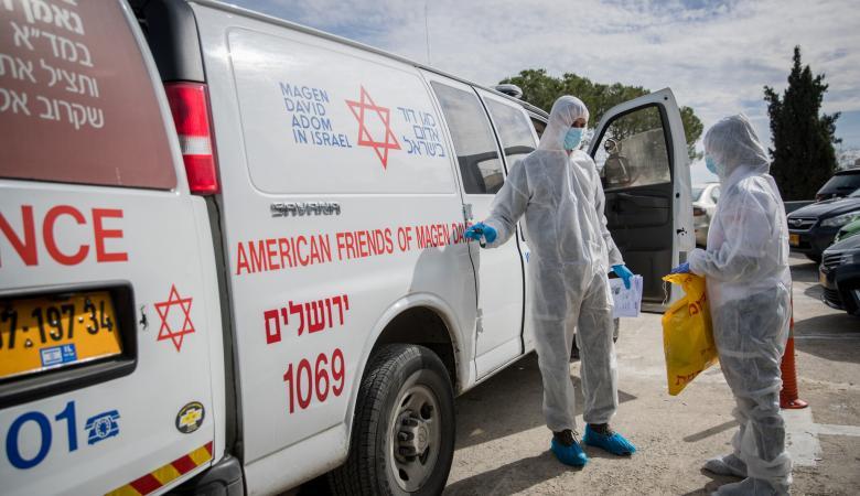 """""""إسرائيل"""": 4,695 إصابة بكورونا بينها 79 حرجة"""