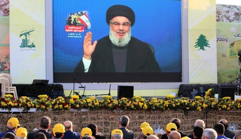 نصر الله يقر بمقتل عنصرين من حزب الله في الهجوم على سوريا
