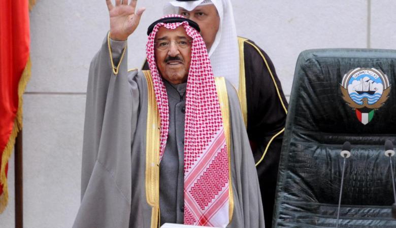 الكويت تعلن وفاة الشيخ صباح الاحمد الصباح
