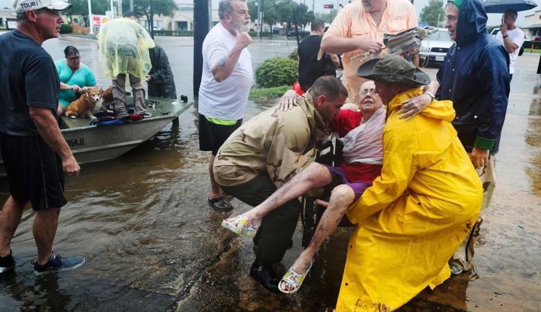أمريكا تشترط على المتضررين من الإعصار في تكساس عدم مقاطعة إسرائيل لتقديم المساعدة لهم
