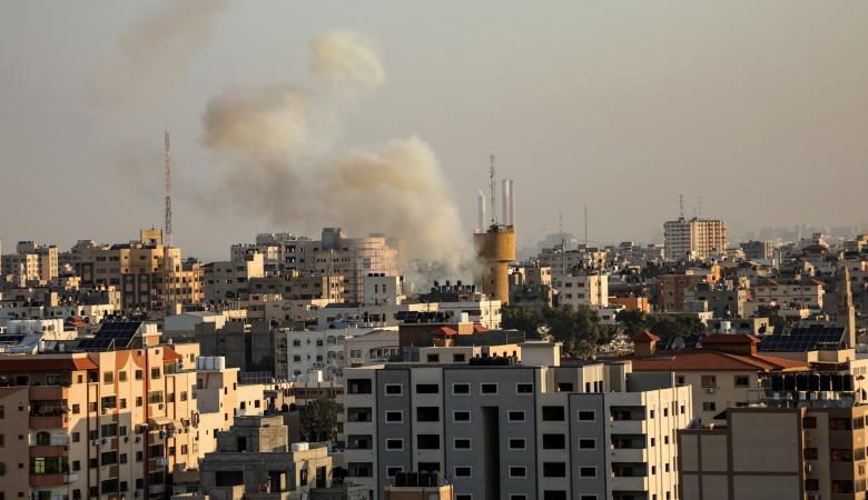 قصف اسرائيلي يبستهدف شمال غزة