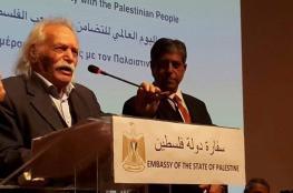 """فلسطين تنعى الصديق الكبير لشعبنا """" مانوليس غلازيوس """""""