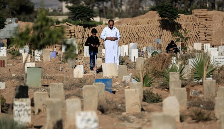 أسعار القبور في سوريا ترتفع بشكل جنوني والسعر 7 مليون ليرة