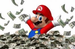 لعبة سوبر ماريو ستجنى 70 مليون دولار أرباحا بأول شهر من إطلاقها