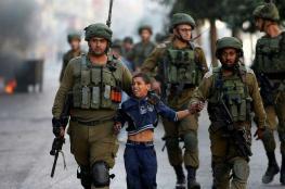 الاحتلال اعتقل أكثر من 6 آلاف طفل فلسطيني منذ العام 2015