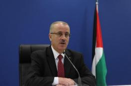 الحمد الله : اعمار غزة من اولويات الحكومة الفلسطينية