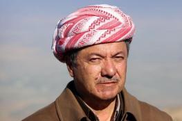 بارزاني: لا أستبعد حروباً دموية ما لم يتحقق استقلال الكرد