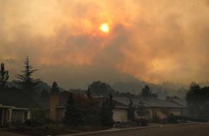 مدينة كاليفورنيا تتحول الى مدينة أشباح بعد تعرضها لأقوى حريق في تاريخها
