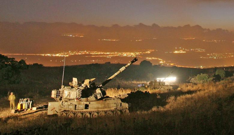 اسرائيل تقصف اهدافا في القنيطرة السورية