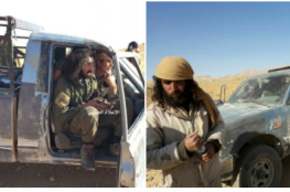 """بالفيديو:  عناصر """"داعش"""" يستسلمون قرب الحدود السورية اللبنانية"""