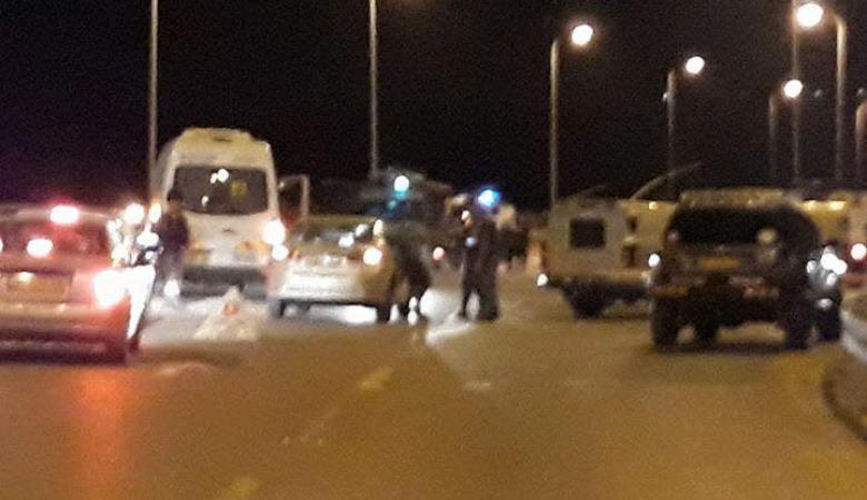 الاحتلال يطلق النار تجاه مركبة فلسطينية ويعتقل سائقها غرب رام الله