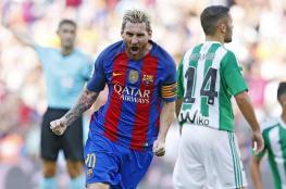 برشلونة يضرب بيتيس بسداسية