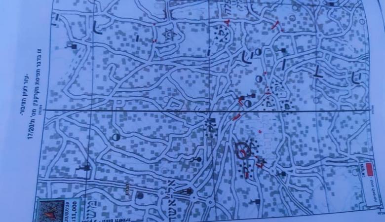 الاحتلال يصدر أمرا عسكريا بالاستيلاء على أراض في تل الرميدة بمدينة الخليل