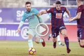 """برشلونة يهزم إيبار بسهولة برباعية في """"الليغا"""" ..فيديو"""
