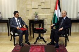 الحمد الله يطلع السفير التونسي على جهود تكريس المصالحة