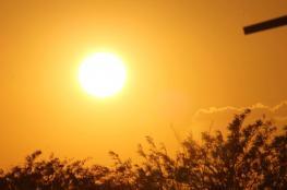 حالة الطقس : جو شديد الحرارة اليوم وغدًا والأرصاد تحذر