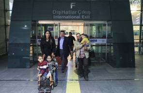 تركيا تعالج 3 اطفال بأنصاف أجساد من غزة