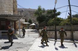 اعتقال فتاة فلسطينية بزعم محاولتها تنفيذ عملية طعن قرب الحرم الابراهيمي