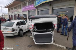 مصرع شخصين وإصابة 170 بحوادث سير بالضفة الغربية في أسبوع