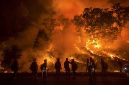 أميركا تستعد للجحيم ...جولة جديدة من الحرائق تنتظر كاليفورنيا