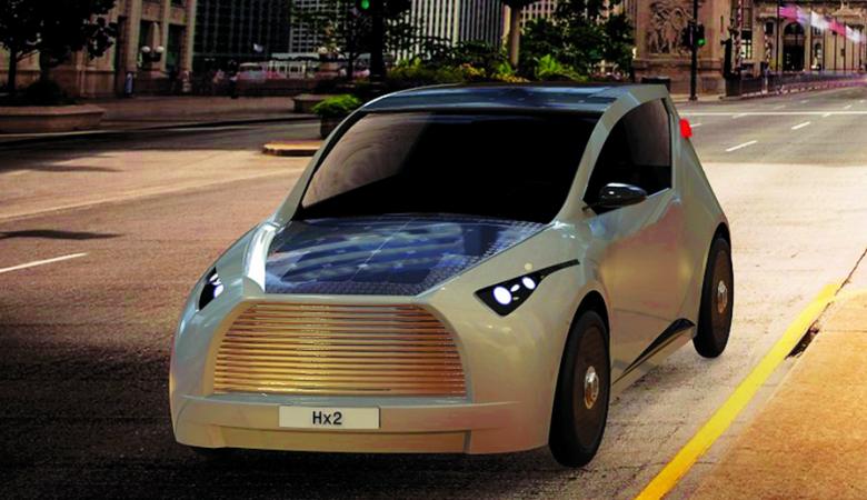 سيارة صغيرة تعمل على الطاقة الشمسية ..هذه مواصفاتها