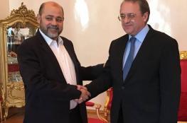"""روسيا : مباحثات صريحة للغاية مع """"حماس """""""