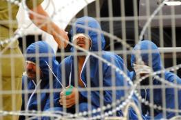 """""""العليا الإسرائيلية"""" تؤكد احتجاز الأسرى بظروف غير إنسانية"""