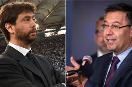 الكشف عن لقاء سري عقده رئيس برشلونة مع نادي يوفنتوس