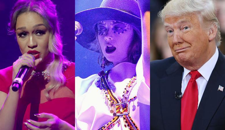 فنانات يرفضن الغناء لترامب في حفل تنصيبه رئيساً للولايات المتحدة