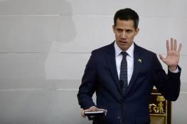 شاهد ...زعيم المعارضة الفنزولية يصل كاركاس