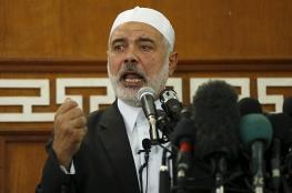 هنية : لن نتخلى عن اسرانا لدى الاحتلال او السعودية