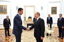 """بوتين عن الصفقة :"""" لا أبيع بشار الأسد """""""