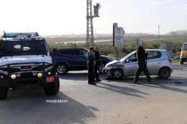 اصابة خمسة مواطنين في حادث تصادم مروع مع مركبة للمستوطنين جنوب بيت لحم