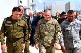 """قائد الجيش الأمريكي يصل """"إسرائيل"""""""