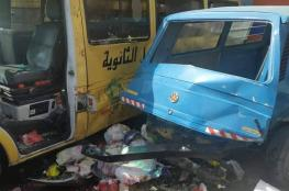 مصرع مواطن واصابات بينها حرجة في حادث سير مروع شمال نابلس
