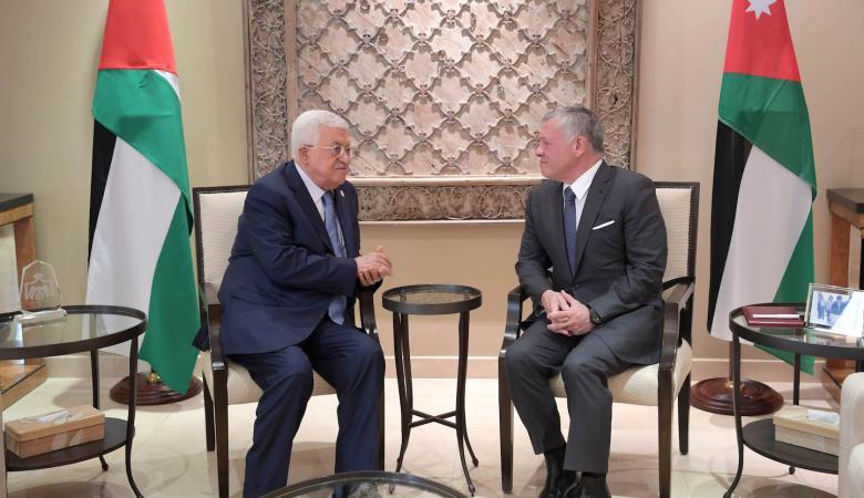 قمة ثلاثية فلسطينية أردنية عراقية في عمان