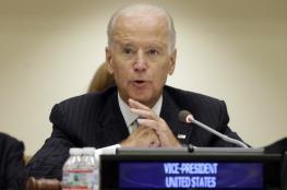 بايدن: الحل السياسي طريق إنهاء العنف بسوريا