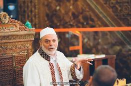 الاعتداء على امام و خطيب المسجد الاقصى ونجله