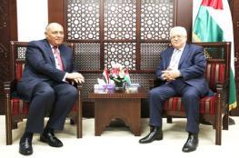 وزير الخارجية المصري يصل رام الله للقاء الرئيس