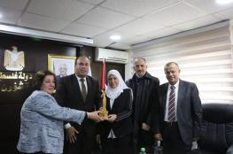 الوزيرة آمال حماد تفوز بشخصية المرآة القيادية للعام 2019