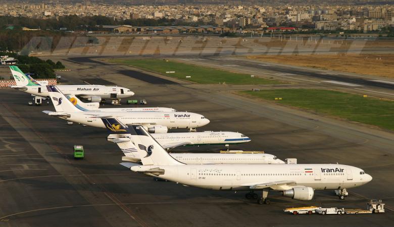 سقوط طائرة ركاب إيرانية على متنها 65 مسافرًا