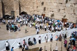 الاحتلال يفتح ساحة حائط البراق أمام المستوطنين