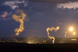 اطلاق قذائف من قطاع غزة صوب مستوطنات الغلاف