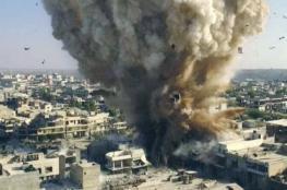 19 قتيلًا بتفجير في درعا السورية